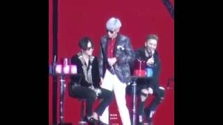 [ GTOP ] T.O.P Kissed GD At Fanmeet