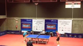 Libre Sancho - Carlos Machado (Spanish Table Tennis Superdivision 2013/14) Set 5 of 5