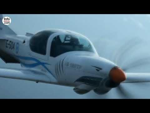 La Fuerza Aérea Ecuatoriana recibe ocho nuevos entrenadores Grob G-120 TP
