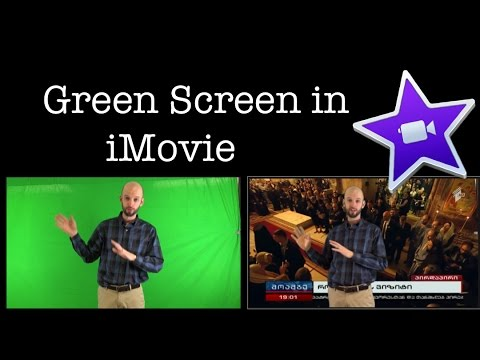 Easy Green-Screen Tutorial for iMovie (2017)
