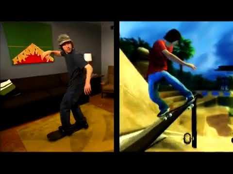 Видео № 0 из игры Tony Hawk: RIDE (игра + беспроводной контроллер-скейт) [Wii]