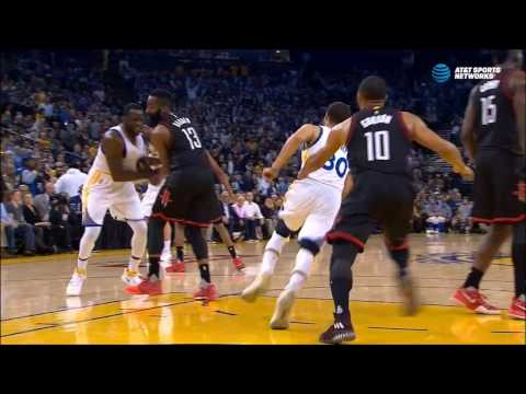 Draymond Green delivers cheap shot to James Harden's injured wrist