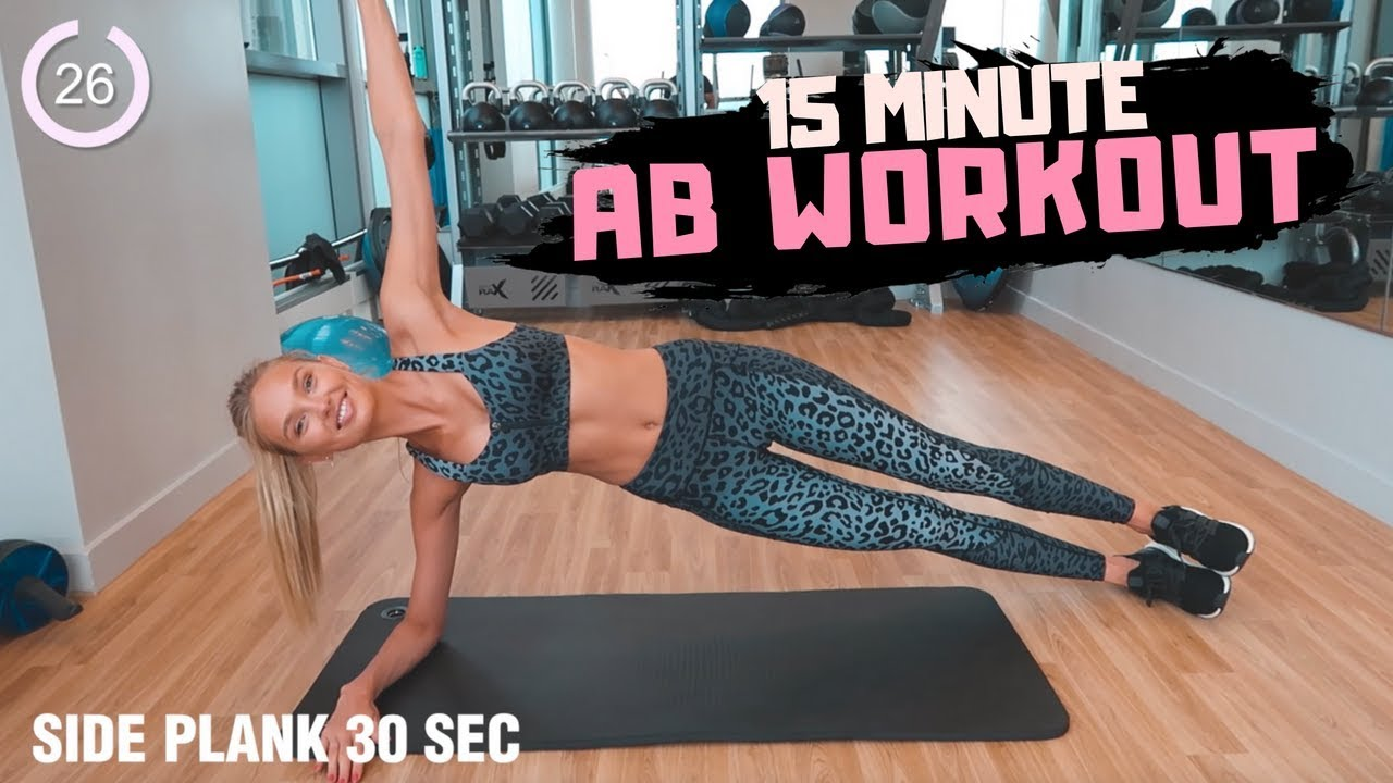 15 Minutes AB workout