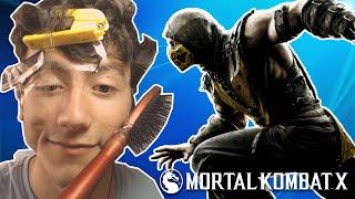 YÜZE EŞYA BANTLAMA CEZALI!! - Mortal Kombat X
