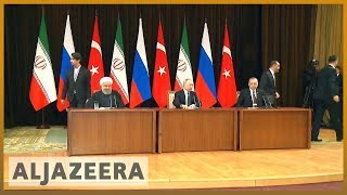 🇸🇾 Russia, Iran, Turkey discuss post-war scenario in Syria talks | Al Jazeera English