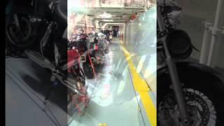 Fähre DFDS Seaways Transport Motorrad nach Schottland