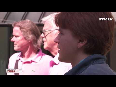 VIDEO: Nosvinēta Eslingenas dziesmu svētku 70. jubileja