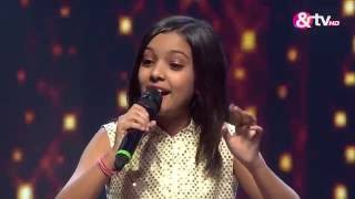 Nishtha - Tere Bina - Liveshows - Episode 21 - The Voice India Kids