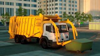 Герои нашего города - Гоша мусоровоз. Мультфильмы про машинки