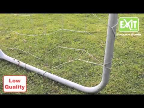 EXIT Fußballtor im Vergleich mit günstigem Fußballtor