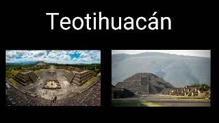 Teotihuacán lugar de dioses.