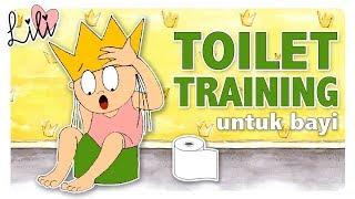 Putri Belajar Latihan PIPIS di POTTY   Melatih anak Latihan Toilet (BHS. INDONESIA)