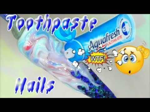 TOOTHPASTE ON GLITTER NAILS, CAN IT BE DONE?! | ABSOLUTE NAILS