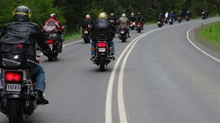 preview picture of video 'CBX-6 Australian National Rally 2014 in Traralgon, Victoria'