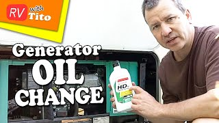 How To Change The Oil In Your Onan RV Generator
