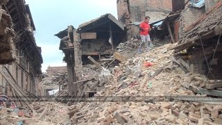 Earthquake in Bhaktapur, 2015