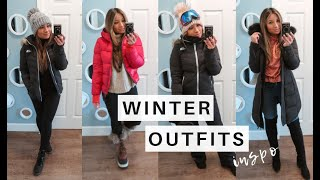 WINTER TRAVEL OUTFITS | Winter Style + What To Wear On A Snowy Trip