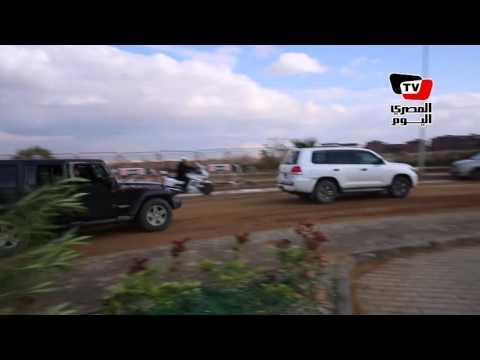 محافظ الجيزة ومدير الأمن يفتتحان قسم شرطة ثالث أكتوبر