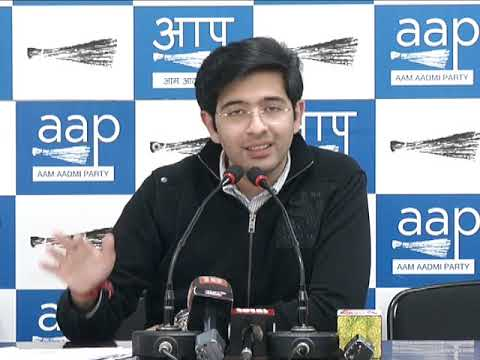 AAP Leader Raghav Chadha on Voter Deletion Verification exercise Conducted in South Delhi Const