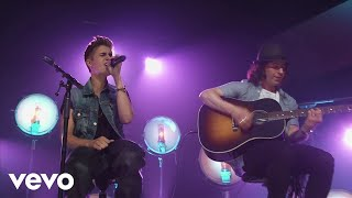 Justin Bieber   All Around The World (Acoustic) (Live)