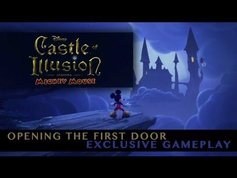 Úvodní level z Castle of Illusion – video