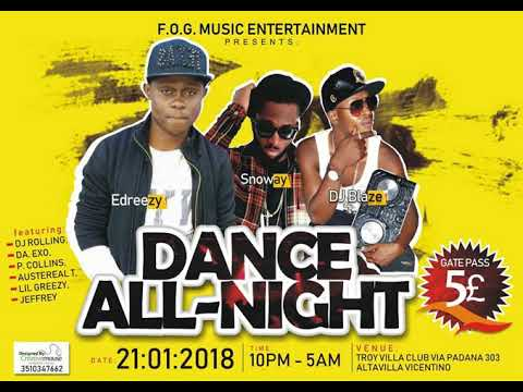 LATEST NAIJA AFROBEAT 2018 DANCE ALL NIGHT MIX(DJ BLAZE ITALY