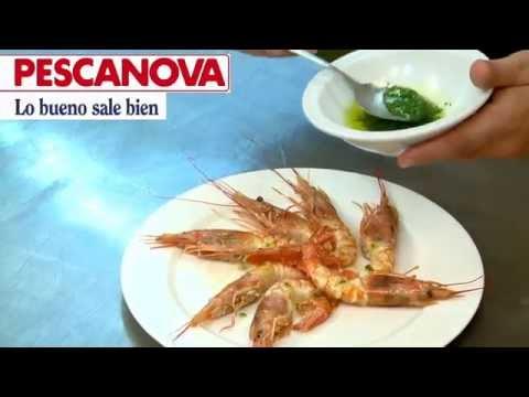 Imagen de la receta de Langostinos Cocidos y Salsa Vinagreta