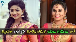 Why Did Mrudula Character In Ninne Pelladatha Serial Change? | Bhoomi Shetty Latest Updates