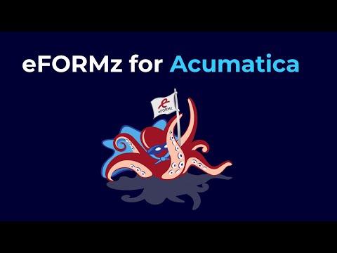 eFORMz for Acumatica