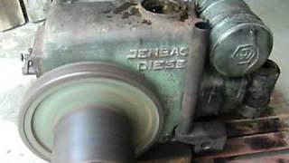 Jenbacher JW8 Standmotor nach 30ig Jahren in Straßwalchen wieder im Einsatz