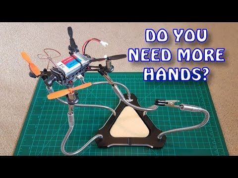 Five Hand Triangle Soldering Station from Banggood.com