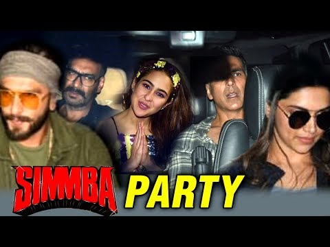Simmba Star Studded Success Party | FULL EVENT | D