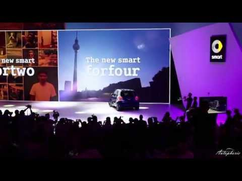 Weltpremiere in Berlin: Neuer smart fortwo und forfour
