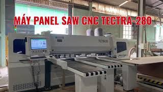 Máy panel saw 2,8 mét bàn giao tại Quy Nhơn | Tectra-280