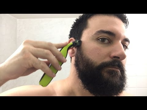 Beard Trimming – Philips Norelco OneBlade Trimmer and Shaver – Model QP2520