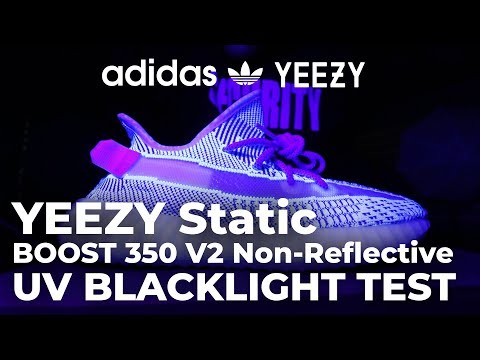 2b8bd84dc96 New Yeezy Static Non-Reflective UV Blacklight Test   Review - Adidas Yeezy  Boost 350