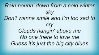 Barry Manilow - Big City Blues Lyrics_1