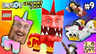 Lets Build & Play LEGO Dimensions #9: UNIKITTY RAGE! (FGTEEV Continues the Story)