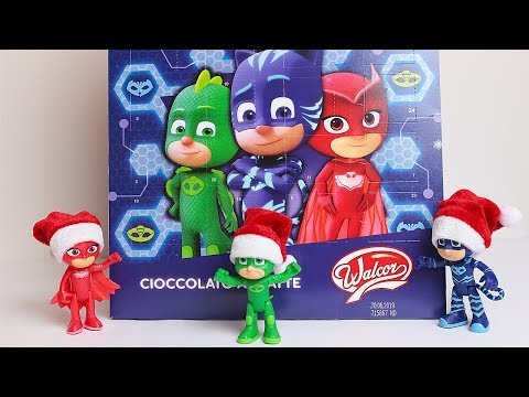 Natale con i Pj Masks Super Pigiamini: il Calendario dell'Avvento con i cioccolatini [Unboxing]