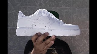 Tres siluetas, una historia: 35 años del Nike Air Force One.