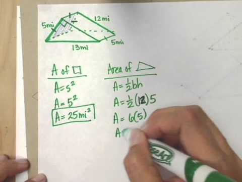 Printables Volume And Surface Area Of Triangular Prisms (c) Measurement Worksheet surface area of triangular prisms read geometry ck 12 resources