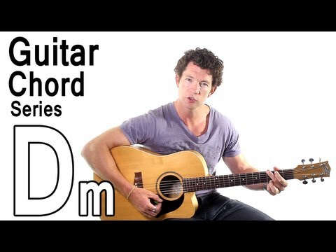 Beginner Guitar Chords 9 - D Minor in a Chord Progression