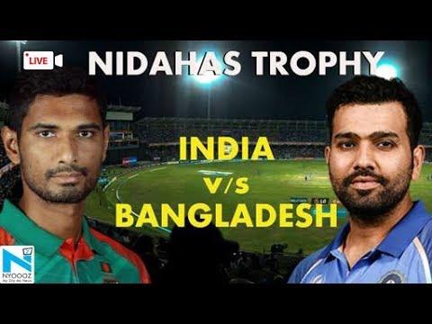 Live India vs Bangladesh 2018, Cricket Score, Nidahas Trophy Final in Colombo