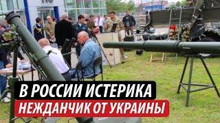 В России истерика. Нежданчик от Украины