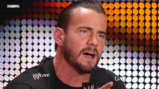 CM Punk Goes Off Script & Speaks His Mind About The WWE (6/27/11)