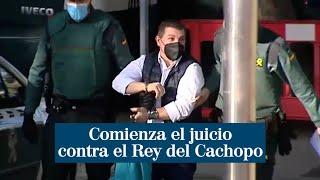 """Comienza el juicio contra el Rey del Cachopo: """"Tengo ganas de demostrar mi inocencia"""""""