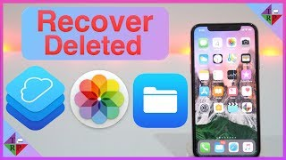 How to Recover Deleted Photos, Contacts, and Other Files from iCloud?