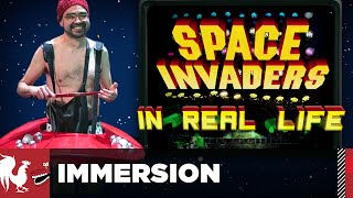 Space Invaders in Real Life – Immersion