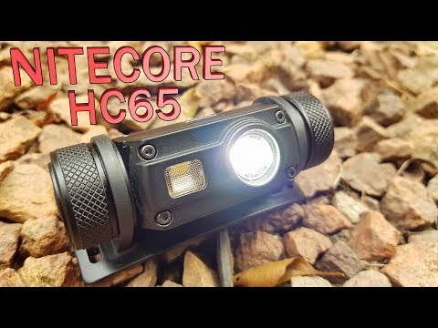 Trail trek review Nitecore HC65 headlamp led