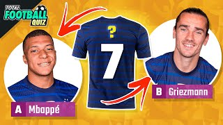 GUESS THE PLAYER JERSEY NUMBER - EURO EDITION 2020   QUIZ FOOTBALL 2021